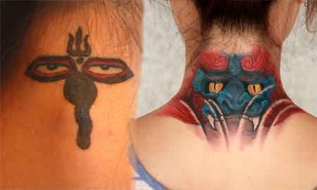 准备去纹身纹在脖子后面好吗 什么图案比较好图片