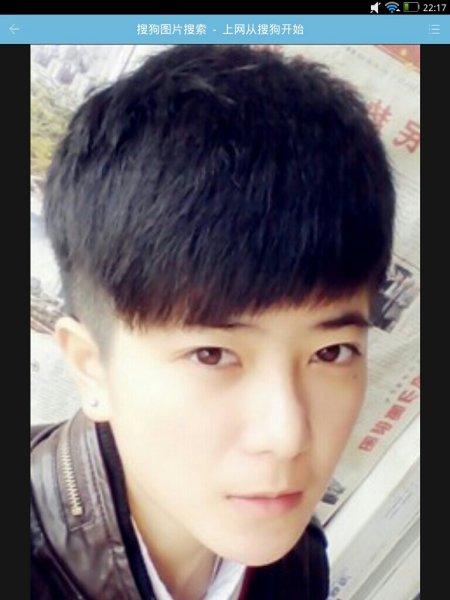 【图】青少年男生发型名称图片