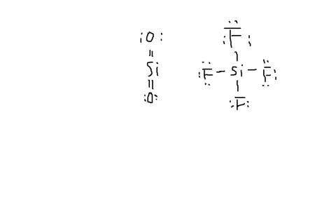 路易斯结构,学ap化学的,表示老师跟我们说,sio2双键比sif4单键强图片