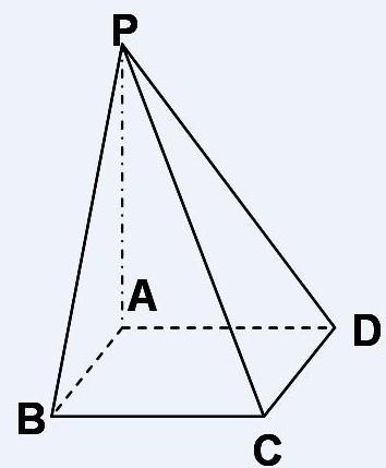 这是一个几何图形的三视图,这是什么图形图片