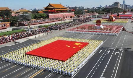 为什么看到我国仪仗队的国庆阅兵式会有自豪感产生?
