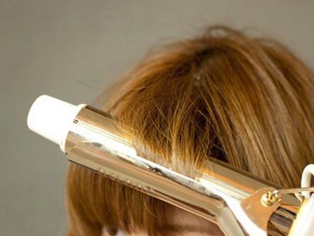 不用卷发棒怎么卷泡面头?麻花辫行么?求图中发型图片