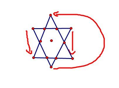 10个棋子摆成一个三角形图片