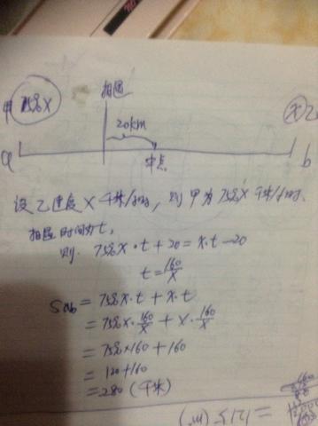 露b磹ilY��x�p_甲乙两辆汽车分别从ab两地相向而行,甲的速度是乙的速度的75%.