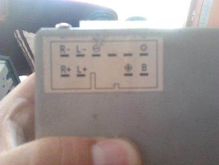 我汽车里本来是收音机 现在买了一款cd机求高手指点接线 高清图片