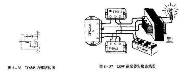 由upk2436构成的逆变器 电路图 电子产品世高清图片